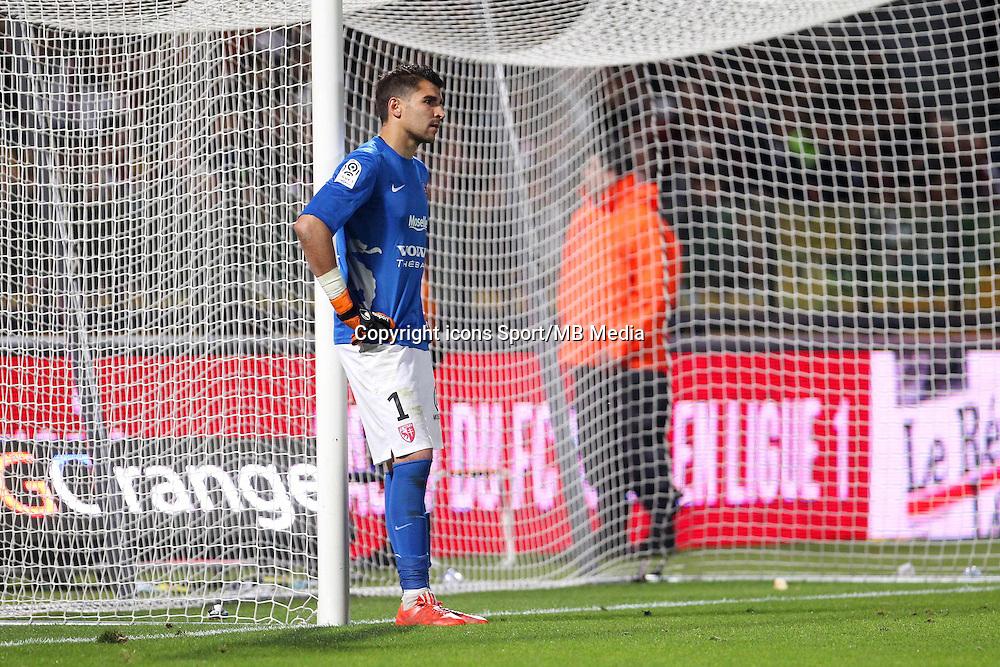 Deception Metz - Johann CARRASSO - 23.05.2015 - Metz / Lille - 38e journee Ligue 1<br />Photo : Fred Marvaux / Icon Sport
