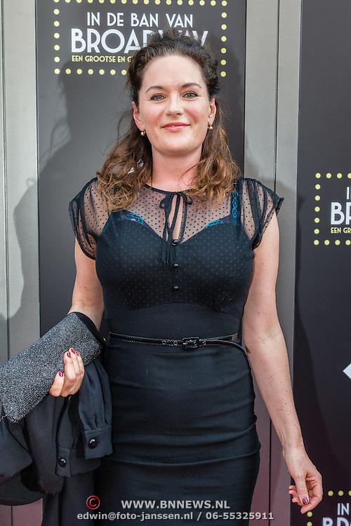 NLD/Amsterdam/20150604 - Premiere In de Ban van Broadway, Maike Meijer