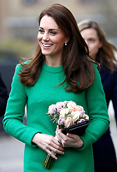 The Duchess of Cambridge visits Lavender Primary School in support of Place2Be\'s Children\'s Mental Health Week 2019, in Enfield, London, UK, on the 5th February 2019. Picture by Chris Jackson/WPA-Pool. 05 Feb 2019 Pictured: Catherine, Duchess of Cambridge, Kate Middleton. Photo credit: MEGA TheMegaAgency.com +1 888 505 6342