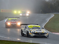 #116 ERC Sport Lee Mowle / Yelmer Buurman Mercedes-AMG GT3 Pro/AM during British GT Championship as part of the British GT and BRDC British F3 Championship at Oulton Park, Little Budworth, Cheshire, United Kingdom. April 02 2018. World Copyright Peter Taylor/PSP.