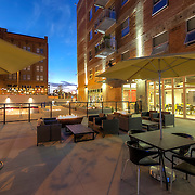 Photograpjhy for O'Reilly Development of the Roaster's Block apartments - renovation of the former Folger's Coffee plant in downtown Kansas City, Missouri.