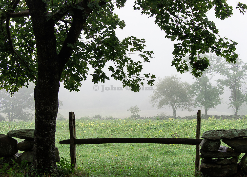 Rural scenic, West Tisbury, Martha's Vineyard, Massachusetts, USA