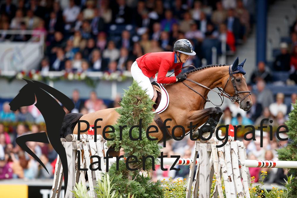 Hough, Lauren (USA), Ohlala<br /> Aachen - CHIO 2017<br /> Grosser Preis von Aachen Rolex Grand Prix<br /> © www.sportfotos-lafrentz.de/Stefan Lafrentz