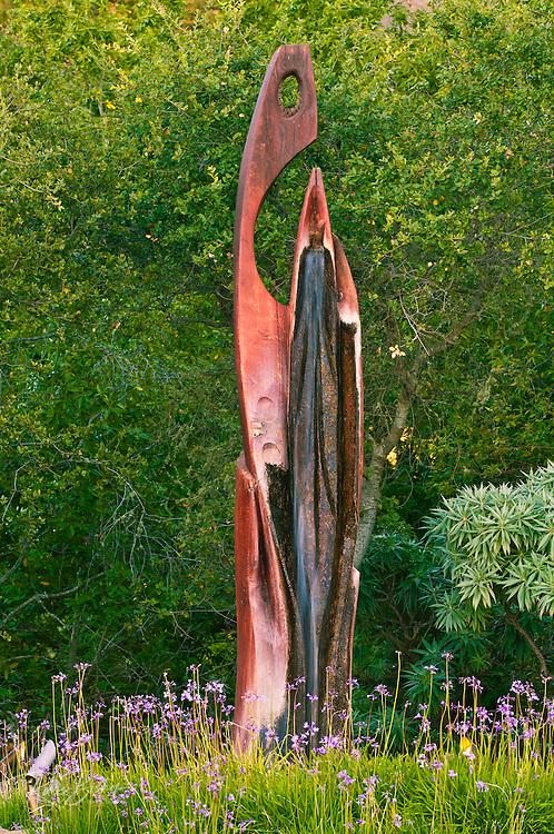 Statue at the Ventana Inn, Big Sur, California