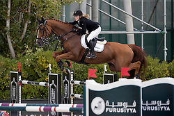 Meyer Janne Friederike, (GER), Goya 27<br /> Furusiyya FEI Nations Cup Jumping Final - Barcelona 2016<br /> © Hippo Foto - Dirk Caremans<br /> 25/09/16