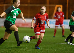 Stirling University Womens Football Club v Forfar Farmington Football Club, Scottish Building Society SWPL game played 25/10/2019 at Stenhousemuir's Ochilview Park.