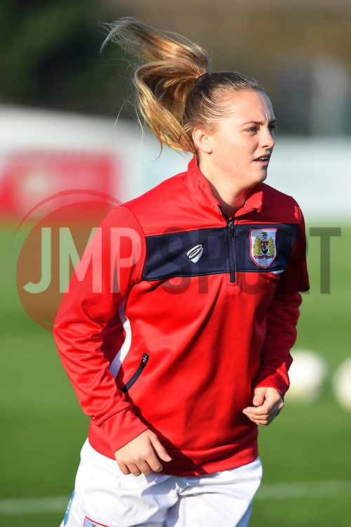 Lucy Graham of Bristol City - Mandatory by-line: Paul Knight/JMP - 17/11/2018 - FOOTBALL - Stoke Gifford Stadium - Bristol, England - Bristol City Women v Liverpool Women - FA Women's Super League 1