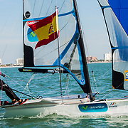 2016 Nacra 17, 49er and 49erFX World Championships in Clearwater, Florida -  Racing Day 6