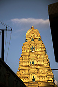 KADIRI, INDIA - 01st November 2019 - Kadiri Hindu temple architecture, Andhra Pradesh, South India.
