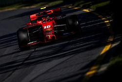March 15, 2019 - Melbourne, Australia - Motorsports: FIA Formula One World Championship 2019, Grand Prix of Australia, ..#16 Charles Leclerc (MCO, Scuderia Ferrari Mission Winnow) (Credit Image: © Hoch Zwei via ZUMA Wire)
