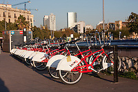 bike hire in Barcelona Photography shoot in 2008 by Christopher Holt