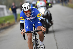 March 23, 2018 - Harelbeke, Belgique - HARELBEKE, BELGIUM - MARCH 23 : GILBERT Philippe (BEL)  of Quick - Step Floors during the 60th Record Bank E3 Harelbeke cycling race with start in Harelbeke and finish in Harelbeke (206 kms) on March 23, 2018 in Harelbeke, Belgium, 23/03/2018 (Credit Image: © Panoramic via ZUMA Press)