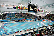 A view of the swimming pool at the Melbourne Sports &amp; Aquatic Centre on day one of the XVIII Commonwealth Games, Melbourne, Australia, Thursday, March 16 2006. Photo: Michael Bradley/PHOTOSPORT<br /><br /><br /><br />149783