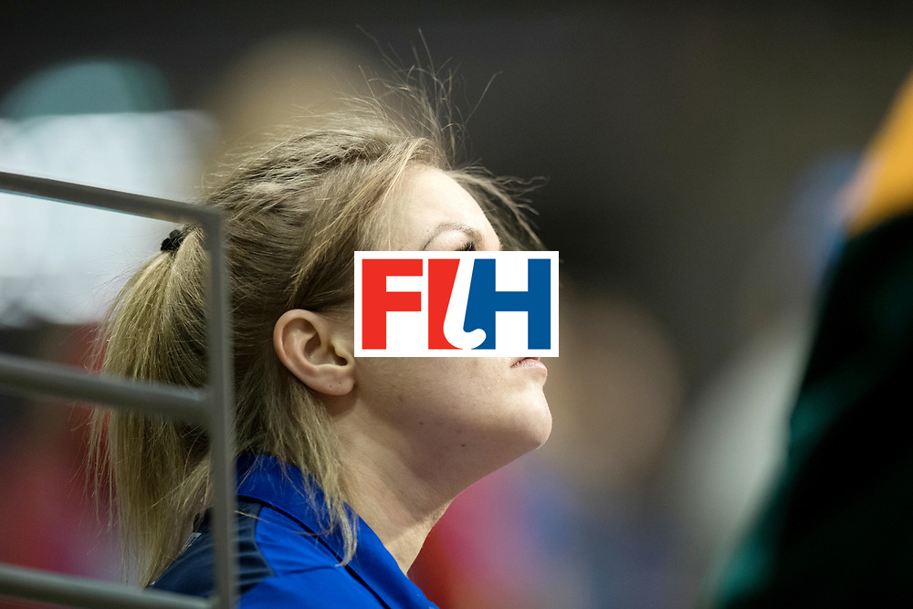 BERLIN - Indoor Hockey World Cup<br /> Women: Russia - Czech Republic<br /> foto: ORLOVA Antonina..<br /> WORLDSPORTPICS COPYRIGHT FRANK UIJLENBROEK