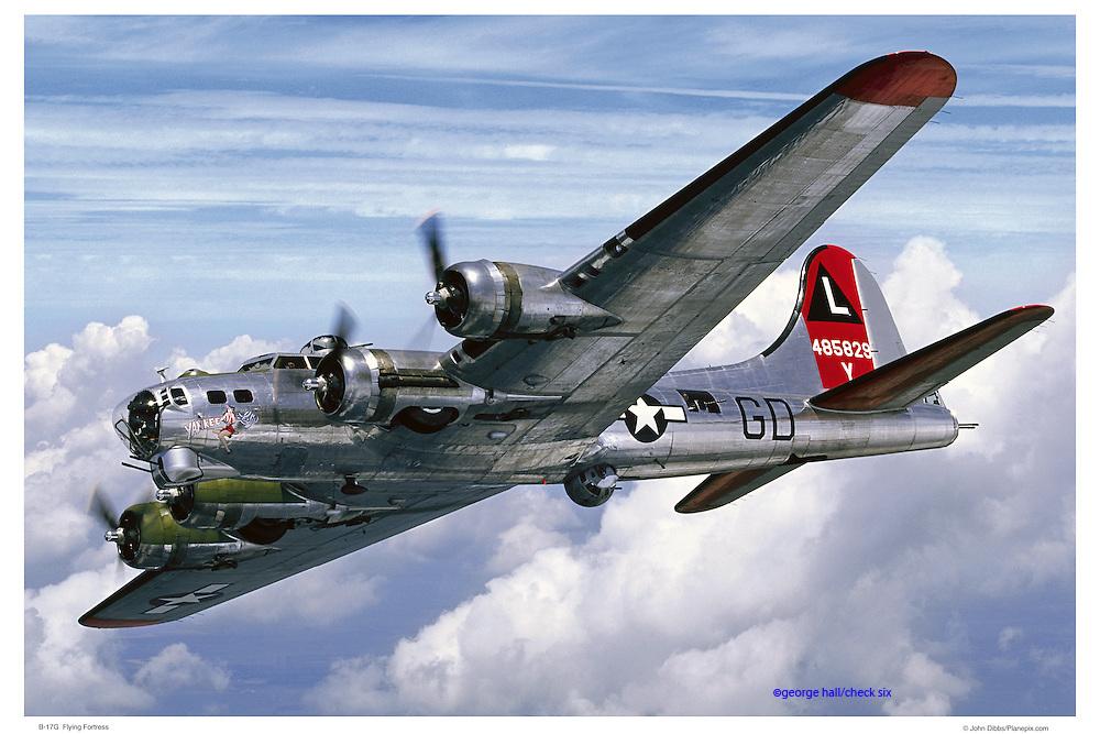 B-17G aerial