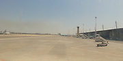 Fire in area causes arrival and departure delays at Israel's Ben Gurion International Airport Photographed on May 18 2018