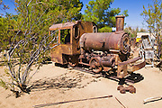 Mining equipment at the ghost town of Randsburg, California