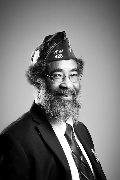 Horace Frazier, Jr. <br /> Army<br /> E-3<br /> Artillery<br /> 1969 - 1971<br /> Vietnam<br /> <br /> Veterans Portrait Project<br /> St. Louis, MO