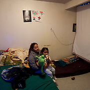Apartment complex where migrant workers live is dilapadated and infested. Bedsheets were hung across part of the living area  to create a bedroom to make up for the water damaged room. Please contact Todd Bigelow directly with your licensing requests.