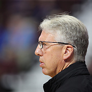 UNCASVILLE, CONNECTICUT- May 2:  Brian Agler, head coach of the Los Angeles Sparks during the Los Angeles Sparks Vs New York Liberty, WNBA pre season game at Mohegan Sun Arena on May 2, 2017 in Uncasville, Connecticut. (Photo by Tim Clayton/Corbis via Getty Images)