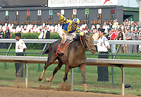 Street Sense with Calvin Borel win the 133rd Kentucky Derby