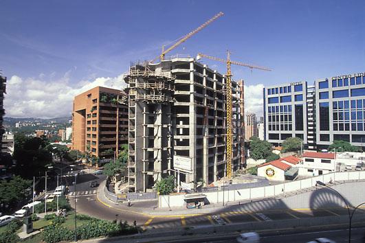 Edificio en construccion, Chacao, Caracas, Venezuela