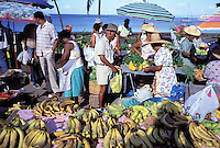 Saint Pierre - Local market - Martinique (French Département d'outre Mer - DOM) - France<br /> French West Indie - Antilles françaises<br /> Caribbean