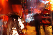 Barfly crowd at Radio 4 gig. Photo © Rob Watkins April 2003