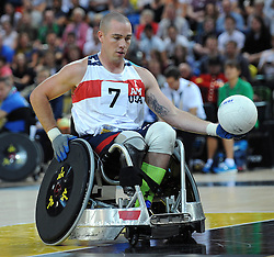 - Photo mandatory by-line: Dougie Allward/JMP - Mobile: 07966 386802 - 12/09/2014 - The Invictus Games - Day 2 - Wheelchair Rugby - London - Copper Box Arena