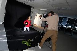 Henk van Cauwenbergh, Gudrun Patteet<br /> Foto shoot met Henk van Cauwenbergh voor KBRSF - Zaventem 2018<br /> © Hippo Foto - Dirk Caremans<br /> 01/05/2018