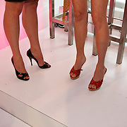 "NLD/Amsterdam/20080529 - Verkiezing Killerlegs on the catwalk "" Mooiste benen van Nederland 2008 "" , winnares Bridget Schuurman"