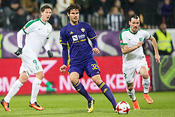 Luka Uskokovic of NK Maribor during football match between NK Maribor and NK Olimpija Ljubljana in 2nd leg match in Quaterfinal of Slovenian cup 2017/2018, on November 29, 2017 in Ljudski vrt, Maribor, Slovenia. Photo by Ziga Zupan / Sportida
