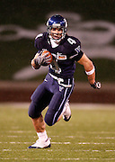 CHATTANOOGA, TN - DECEMBER 18:  Wide receiver Matt Szczur #4 of the Villanova Wildcats runs for a 35 yard gain during the game against the Montana Grizzlies at Finley Stadium on December 18, 2009 in Chattanooga, Tennessee.  (Photo by Mike Zarrilli/Getty Images)