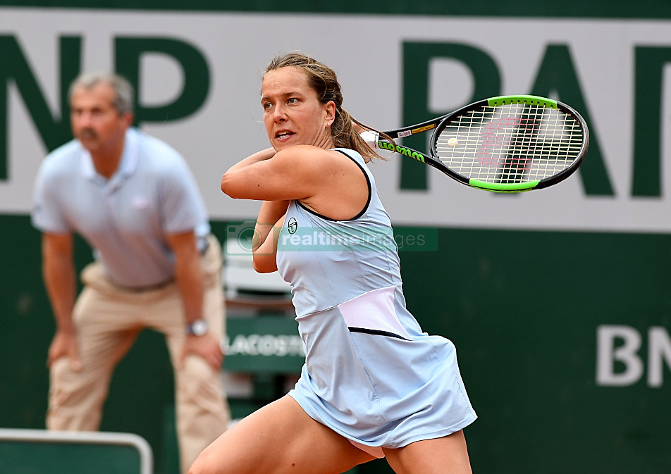 May 27, 2019 - Paris, France, F - Tennis : Roland Garros 2019  -  Barbora Strycova - Republique Tcheque (Credit Image: © Panoramic via ZUMA Press)