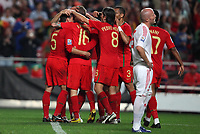 20091010: LISBON, PORTUGAL - Portugal vs Hungary: World Cup 2010 Qualifying Match. In picture: . PHOTO: Carlos Rodrigues/CITYFILES