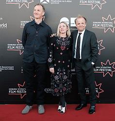 Edinburgh International Film Festival, Saturday 24th June 2017<br /> <br /> KALEIDESCOPE UK PREMIERE<br /> <br /> Rupert Jones, Sinead Matthews and Toby Jones<br /> <br /> (c) Alex Todd | Edinburgh Elite media