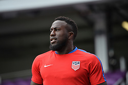 October 5, 2017 - Orlando, FL, USA - Orlando, FL, Thursday, October 5, 2017: Jozy Altidore during practice before a World Cup Qualifying match with Panama, at Orlando City Stadium. (Credit Image: © John Todd/ISIPhotos via ZUMA Wire)