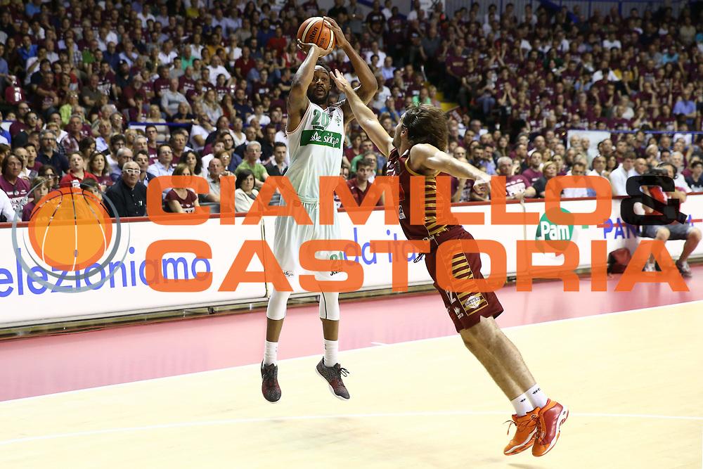 Randolph Levi<br /> Umana Reyer Venezia vs Sidigas Avellino<br /> Lega Basket Serie A 2016/2017<br /> Play Off SemiFinali Gara 1<br /> Venezia,26/05/2017<br /> Foto Ciamillo-Castoria/A. Gilardi