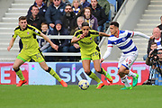 Queens Park Rangers midfielder Ravel Morrison (49) dribbling  during the EFL Sky Bet Championship match between Queens Park Rangers and Rotherham United at the Loftus Road Stadium, London, England on 18 March 2017. Photo by Matthew Redman.