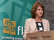 "FLAC: Need to learn from others' experience on personal insolvency law. - No fee for repro. -  Lensmen Photographic Agency..At a conference launched by Minister for Social Protection Joan Burton TD in Dublin this morning, legal rights organisation FLAC is bringing together Irish and international experts to share expertise and offer practical insights on the imminent reform of Ireland's outdated system of personal insolvency law...Pictured at the conference were;..Minister for Social Protection Joan Burton TD...The event is examining what the government must do to finally establish a clear and effective system for hard-pressed debtors, tackling such thorny issues as mortgage arrears and moral hazard. Academics, lawyers and economists are devoting the day to producing a range of international and domestic inputs that FLAC believes will improve the impending personal insolvency Bill, due to be published by the end of April. .""Ireland's legal system lacks a comprehensive structure for resolving the chronic indebtedness that has beset so many people arising out of the credit boom and subsequent recession,"" said Paul Joyce, Senior Policy Advisor with FLAC. ""The insolvency scheme presents an opportunity to put this right, but we must learn from the experience of other countries."".""FLAC sees this event as an opportunity to identify trends and developments in international best practice. While the domestic speakers examine the constitutional and economic implications of debt settlement legislation, the international speakers will reveal how other countries have tackled personal debt crises,"" commented FLAC Director General Noeline Blackwell..Amongst the issues tackled by US Professor Jason Kilborn in his comprehensive overview of consumer insolvency systems around the world is the topical question of moral hazard. There is also a particular focus on how to fit mortgage debt into a personal insolvency scheme, with the intervention of Norwegian lawyer Egil Rokhaug. Norway suf"