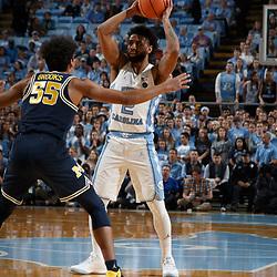 2017-11-29 Michigan at North Carolina basketball