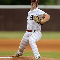 Houston's Kylan Carter gets the start against North Pontotoc in game 2 of the class 3A quarterfinals Friday naigh in Houston.
