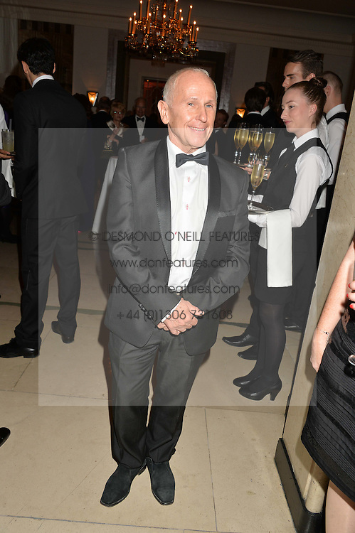 WAYNE SLEEP at a dinner hosted by the Royal Academy of Dance to present the Queen Elizabeth II Award 2014 held at Claridge's, Brook Street, London on 4th September 2014.