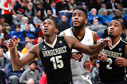 ST. LOUIS, Mo., -- Game 01 of the 2018 SEC Men's Basketball Tournament played between Georgia and Vanderbilt, Wednesday, March 07, 2018 at the Scott Trade Center in ST. LOUIS.