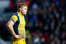 Connor Braid of Worcester Warriors looks on - Rogan Thomson/JMP - 26/12/2016 - RUGBY UNION - Ashton Gate Stadium - Bristol, England - Bristol Rugby v Worcester Warriors - Aviva Premiership Boxing Day Clash.
