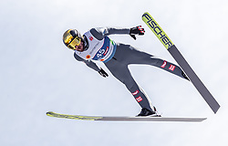 21.02.2019, Bergiselschanze, Innsbruck, AUT, FIS Weltmeisterschaften Ski Nordisch, Seefeld 2019, Nordische Kombination, Skisprung, Training, im Bild Manuel Fettner (AUT) // Manuel Fettner of Austria during a training of Ski Jumping competition for Nordic Combined of FIS Nordic Ski World Championships 2019. Bergiselschanze in Innsbruck, Austria on 2019/02/21. EXPA Pictures © 2019, PhotoCredit: EXPA/ JFK