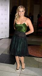 Singer NATASHA BEDINGFIELD at the 2004 British Fashion Awards held at Thhe V&A museum, London on 2nd November 2004.<br /><br />NON EXCLUSIVE - WORLD RIGHTS