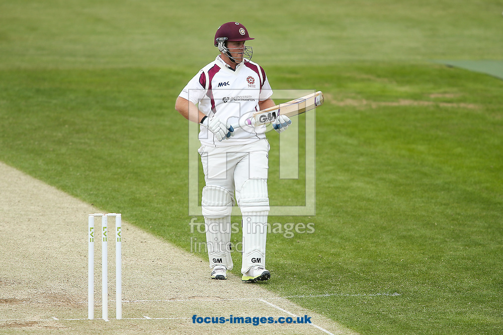Richard Levi of Northamptonshire  during the LV County Championship Div Two match at the County Ground, Northampton<br /> Picture by Andy Kearns/Focus Images Ltd 0781 864 4264<br /> 08/06/2015