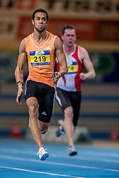 11-02-2017 NED: AA Drink NK Indoor, Apeldoorn<br /> Devron Jepma 60 meter