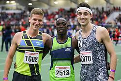 Kidder, Cheserek, Piazza<br /> Boston University Athletics<br /> Hemery Invitational Indoor Track & Field